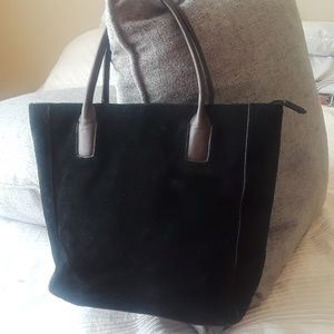 Handbags - Giani Bernini Suede Bag